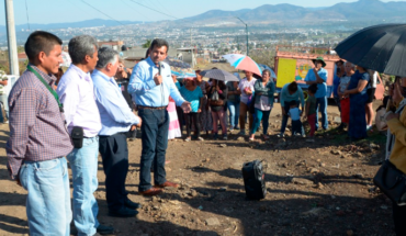 Morelia Government opens drainage and drinking water works in Ciudad Jardín