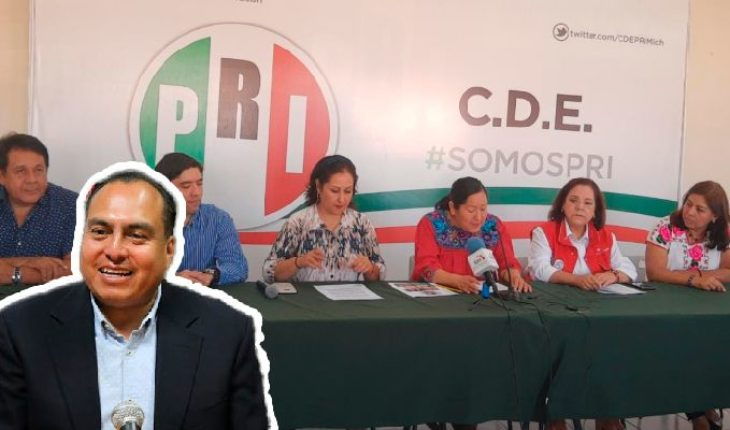 PRI Michoacán will not defend Gerónimo Color in case of alleged enrichment