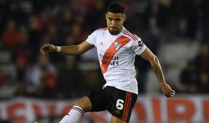 Paulo Díaz received harsh criticism for leaving River with one less