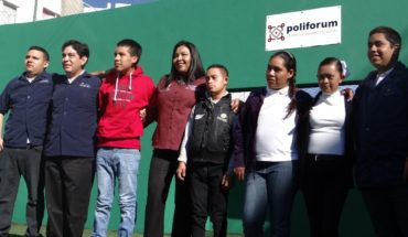 Poliforum trains CAM Morelia students to work