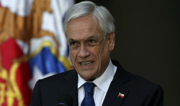 """President Piñera says that """"The Government has prepared to safeguard public order and promote a March of agreements"""""""