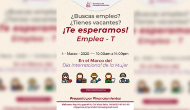 SEFECO reports that it will organize Employment Fair in its Morelia facilities