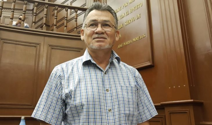 Sergio Báez Torres presents initiative to prevent violence in Michoacan schools