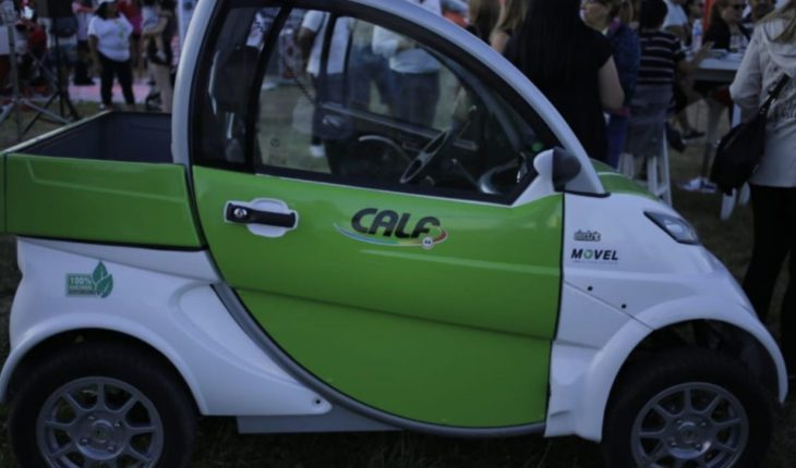 """The """"City Cars"""" who arrived in Neuquén to reduce pollution"""