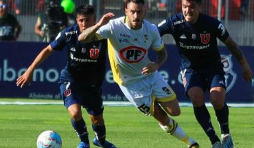 The U was unable to take all three points to Coquimbo and squandered the option of becoming a deputy leader