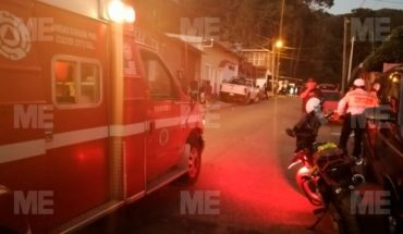 They take a guy's life outside his home in Uruapan