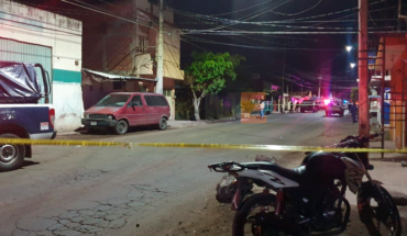 They take the life of a five-year bookine in Zamora, Michoacán