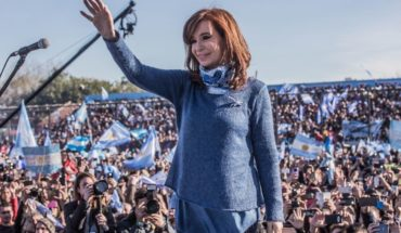 Video: La Cámpora honored Cristina Kirchner on her birthday