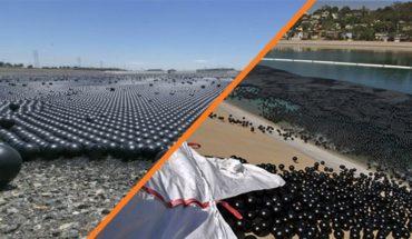 ¿Por qué almacenes de agua de California están cubiertos por millones de pelotitas negras? (Video)