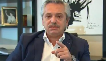 """Alberto Fernández: """"No quisiera llegar a declarar el estado de sitio"""""""