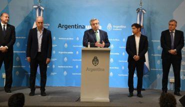 Alberto Fernández anunció la cuarentena total en la República Argentina