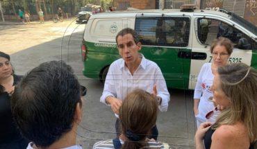 """Alessandri: """"San Borja ha vivido un infierno desde el estallido social"""""""