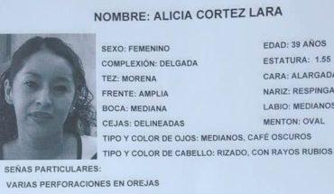 Alicia desapareció en CDMX, días después su pareja confesó que la mató