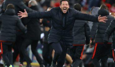 Atlético de Madrid dio la sorpresa y eliminó a Liverpool de la Champions