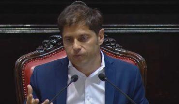 Axel Kicillof inauguró las sesiones en la Legislatura de Buenos Aires