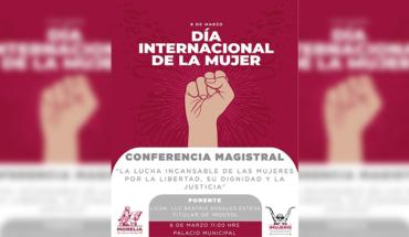 Ayuntamiento de Morelia anuncia programa de actividades con motivo de conmemoración del Día Internacional de la Mujer
