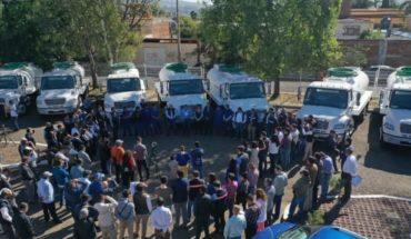 Ayuntamiento de Morelia invierte 23 millones de pesos en parque vehicular para el Ooapas