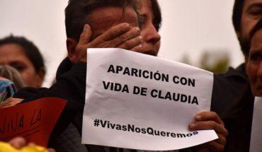 Búsqueda de Claudia Repetto: hallaron manchas de sangre en su casa
