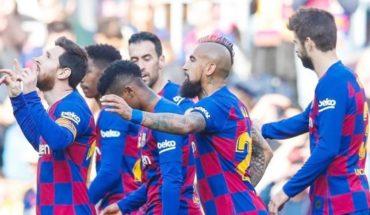 Barcelona pedirá título de campeón si termina La Liga por el coronavirus