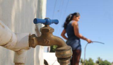 Buscan que no corten el agua por falta de pago en Sinaloa