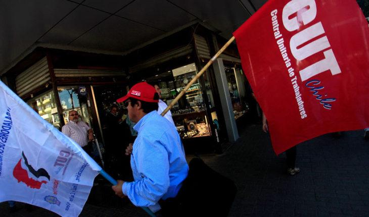 """CUT manifestó su rechazo a dictamen de la DT: """"Deja a los trabajadores en la más absoluta desprotección respecto de sus ingresos"""""""