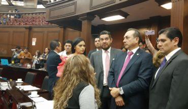 Cancelada Sesión Ordinaria en el Congreso de Michoacán, tras fallecimiento de Erik Juárez
