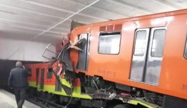 Chocan trenes del Metro en Tacubaya; una persona murió, 41 heridos