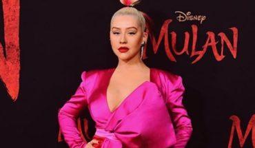 """Christina Aguilera presentó su nuevo tema de la remake de """"Mulán"""""""