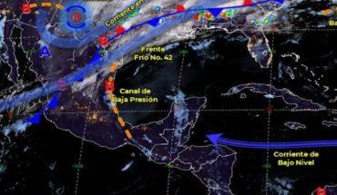 Clima 3 marzo: Frente frío 42 ocasionará lluvias y chubascos en México