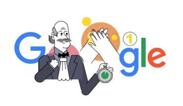 Coronavirus: Google le dedicó un Doodle a Ignaz Semmelweis y al lavado de manos