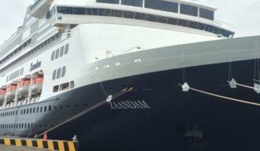 Crucero que partió de Buenos Aires a Florida lleva 77 personas con síntomas de gripe