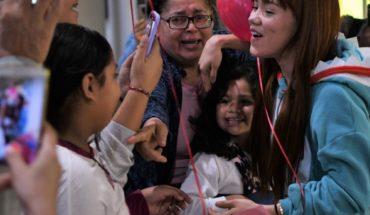 Dalú es bienvenida por su familia, amigos y fanáticos a Culiacán
