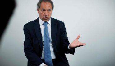 Daniel Scioli presentó su renuncia como diputado