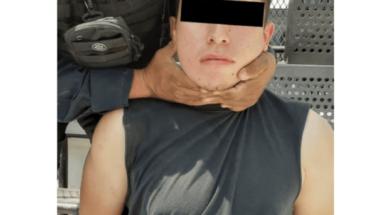 Detienen a hombre que golpeo a mujer en Tlajomulco