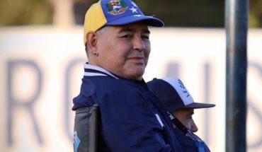 Diego Maradona se prepara para jugar con Boca con una duda en Gimnasia