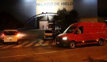 España convirtió una pista de hielo en una morgue para muertes por coronavirus