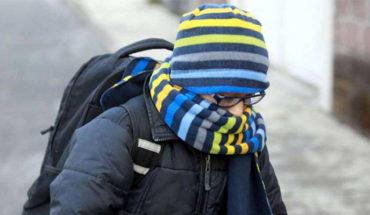 Frente frío No. 42 se aproxima al noreste del país, dando origen a la décima tormenta invernal