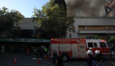 """Gobierno por informe de incendio en Centro de Arte Alameda: """"Lo importante aquí es poner todos los antecedentes a disposición de la justicia"""""""