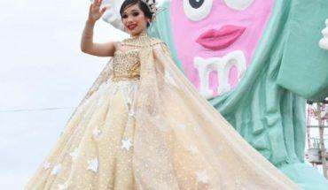 Gran colorido en el recorrido infantil del Carnaval Mocorito