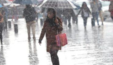 Granizadas y fuertes lluvias se prevén esta noche en México, Jalisco y otros estados