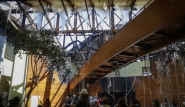 Informe de Bomberos dice que no hay pruebas de que lacrimógena iniciara incendio en el Centro Arte Alameda