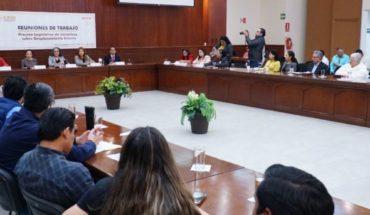 Inicia proceso de creación de ley para personas desplazadas en Sinaloa