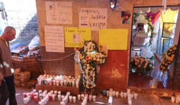 Investigan si presunta feminicida de Fátima fue violentada por su esposo