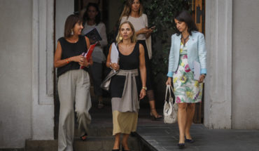 Isabel Plá acaba de renuncial al ministerio de la Mujer