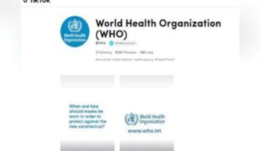 La OMS se une a TikTok para combatir la desinformación sobre el coronavirus