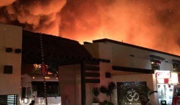 Más de 70 campers arden en el incendio de Punta Cerritos