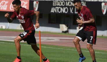 Marcelo Gallardo volvió a ausentarse de la práctica de River por su salud
