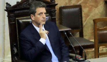 Massa suspendió las designaciones de planta permanente de la Cámara Baja