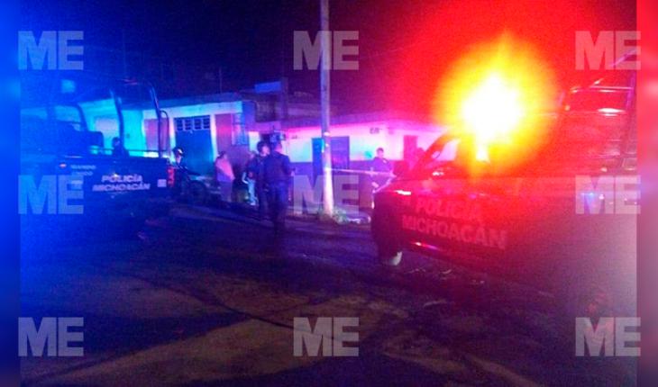 Mujer queda herida al ser baleada en Morelia