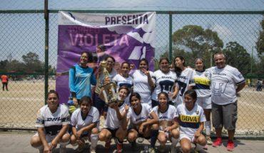 Mujeres combaten la violencia feminicida con futbol en el Edomex